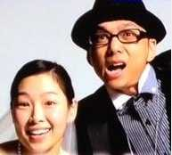 チューヤンと嫁のツーショット写真