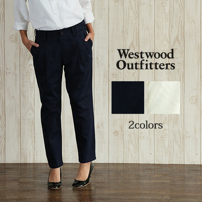 Westwood Outfitters トリックジップ テーパードカラーパンツ